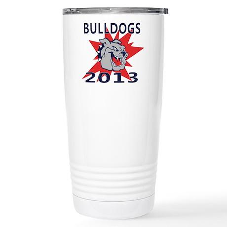 Bulldogs 2013 Stainless Steel Travel Mug
