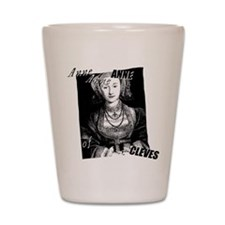 Anne Of Cleves Graphic Shot Glass
