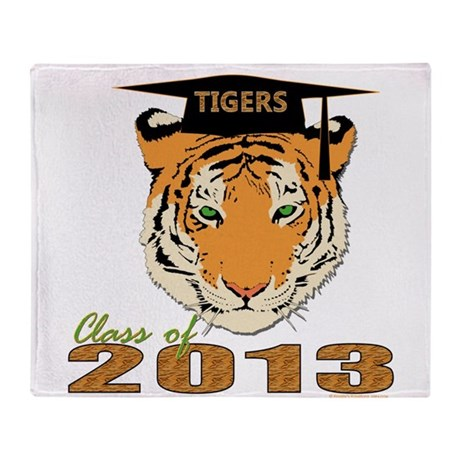 Class of 2013 Tigers Throw Blanket