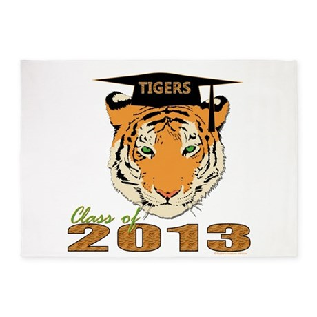 Class of 2013 Tigers 5'x7'Area Rug