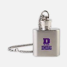 D is for Dimebag Flask Necklace