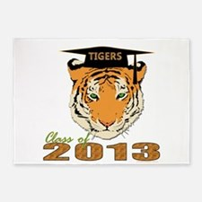 Class of 2014 Tigers 5'x7'Area Rug