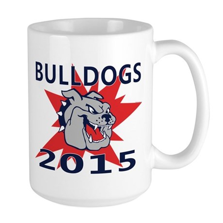 Bulldogs 2014 Large Mug