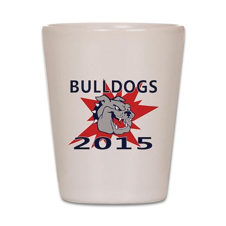 Bulldogs 2014 Shot Glass