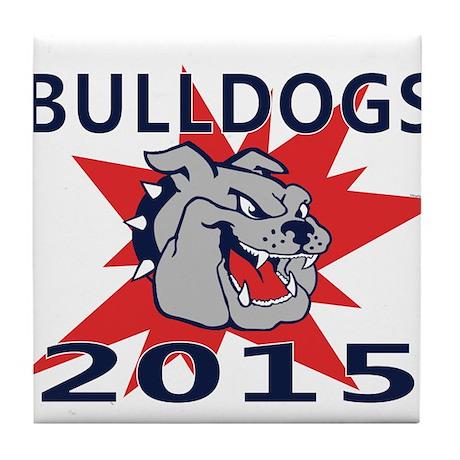 Bulldogs 2014 Tile Coaster