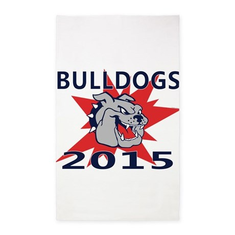Bulldogs 2014 3'x5' Area Rug