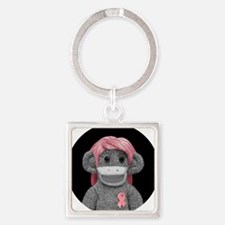 JONES SODA SOCK MONKEY Square Keychain