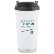Trust Me: Ive sold more houses than you! Thermos Mug