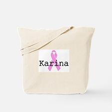 BC Awareness: Karina Tote Bag