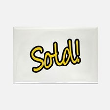 Sold! Rectangle Magnet