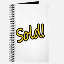 Sold! Journal
