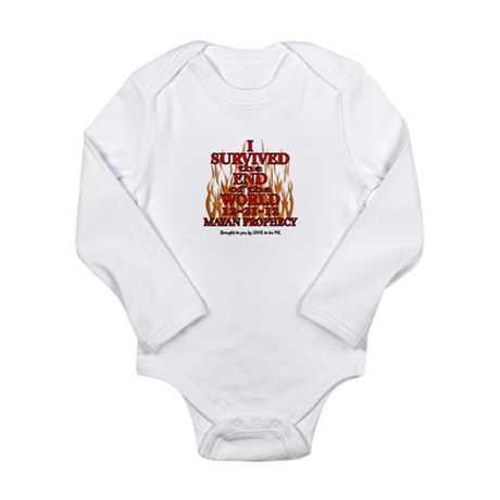 I SURVIVED THE END OF THE WORLD Long Sleeve Infant
