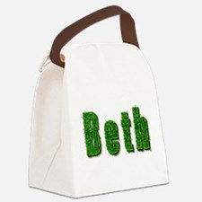 Beth Grass Canvas Lunch Bag