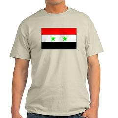 Syria Ash Grey T-Shirt