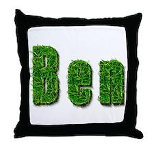 Ben Grass Throw Pillow