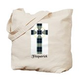 Fitzpatrick plaid Canvas Totes
