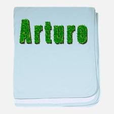 Arturo Grass baby blanket