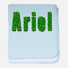 Ariel Grass baby blanket