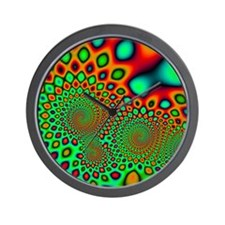 Psychedelic Wall Clock 10