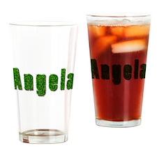 Angela Grass Drinking Glass