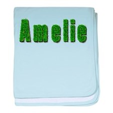 Amelie Grass baby blanket