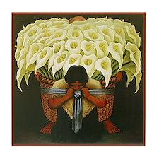Cute Native art Tile Coaster