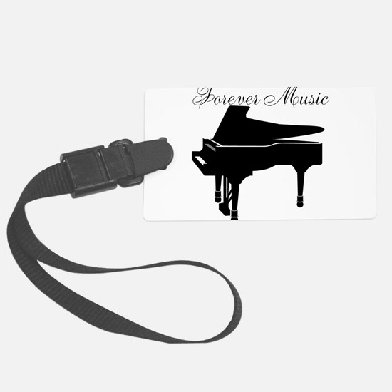 Forever Music Luggage Tag
