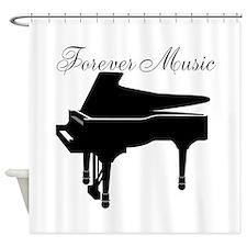 Forever Music Shower Curtain