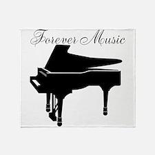 Forever Music Throw Blanket