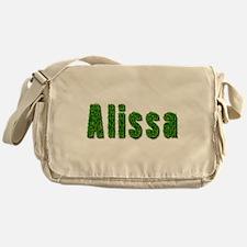 Alissa Grass Messenger Bag