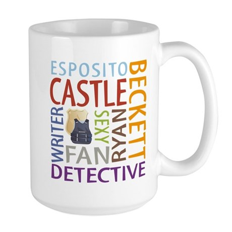 Castle Fan Large Mug