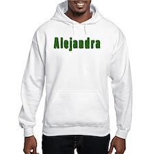 Alejandra Grass Jumper Hoody