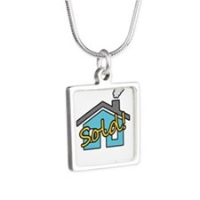 House Sold! Silver Square Necklace