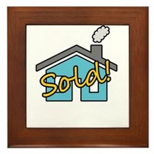 House Sold! Framed Tile