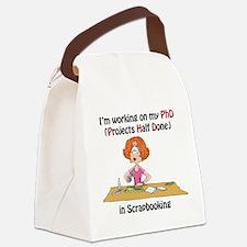 ScrapbookingPhD.png Canvas Lunch Bag