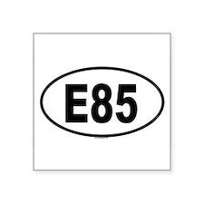 E85 Oval Sticker