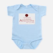 I Survived the Mayan Apocalypse Infant Bodysuit