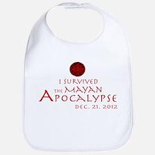 I Survived the Mayan Apocalypse Bib