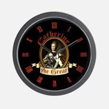 Catherine The Great Wall Clock