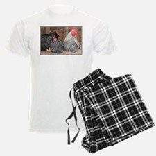 chickens on a roost Pajamas