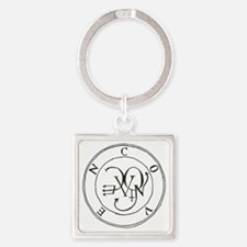 Coven Seal/Sigil Square Keychain
