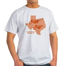 Riggins Rigs T-Shirt (Gray) T-Shirt