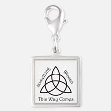 SomethingWiccan.png Silver Square Charm