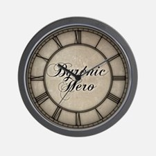 Byronic Hero Wall Clock