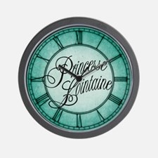 Princesse Lointaine Wall Clock