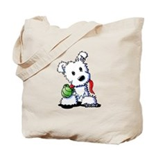 Muggles Westie Puppy Tote Bag