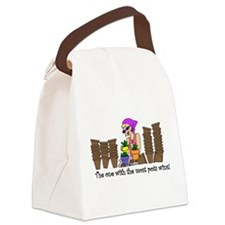 OneWMostPotsWins.png Canvas Lunch Bag