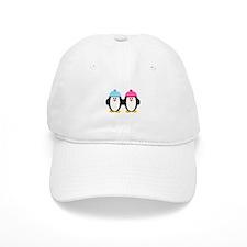 A Couple of Cute Penguins Baseball Cap