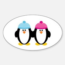 A Couple of Cute Penguins Decal