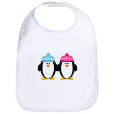 A Couple of Cute Penguins Bib